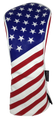 USA Flag Embroidered Headcover by ReadyGOLF - Driver