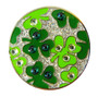 Navika: Swarovski Crystal Ball Marker with Hat Clip - Shamrock