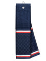 Just 4 Golf: Navy Towel with Ribbon