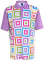 Hip To Be Square Mens Golf Polo Shirt by ReadyGOLF