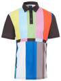 Test Pattern Mens Golf Polo Shirt by ReadyGOLF