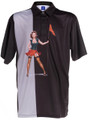 Pinseeker Mens Pin-Up Golf Polo Shirt by ReadyGOLF