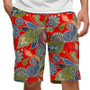 Loudmouth Golf: Men's StretchTech Shorts - Hotel Lobby