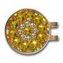 Blingo Ball Markers: Yellow Glitter