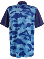 Fish Camo Mens Golf Polo Shirt by ReadyGOLF