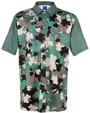 ReadyGOLF Mens Golf Polo Shirt - Irish Camo
