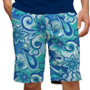 Loudmouth Golf: Men's StretchTech Shorts - Summer of Love