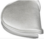 Just 4 Golf: Putter Cover Mallet Headcovers - Metallic Silver