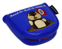 Dancing Gopher Blue Embroidered Putter Cover by ReadyGolf - Mallet
