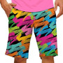 Loudmouth Golf: Men's StretchTech Shorts - Broad Strokes