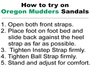 Oregon Mudders: Women's Golf Sandal - WCS200