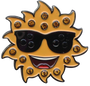 ReadyGolf: Sunglasses Ball Marker & Hat Clip with Crystals
