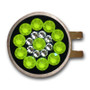 Blingo Ball Markers: Neon Yellow on Black