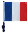 SSP Flags: 11x15 inch Golf Cart Flag with Pole - France