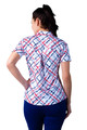 SanSoleil: Ladies UPF 50 SolCool Fitted Short Sleeve Polo - 900473