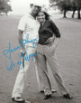 """Cindy Morgan """"Lacey Underall"""" Signed 8x10 Caddyshack B & W Photo with Ty Webb"""