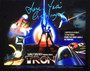 "Cindy Morgan ""Yori"" Signed 8x10 Tron Poster Color Photo Horizontal"