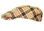 Golf Knickers: Men's 'Par 5' Plaid Golf Knickers & Cap - Cambridge