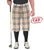 Golf Knickers: Men's 'Par 5' Limited Plaid Golf Knickers & Cap - Kilmarnock