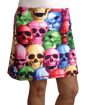 ReadyGolf: Ladies Active Skort - Pile of Skulls