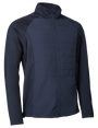 Abacus Sports Wear: Men's High-Performance Hybrid Jacket - Troon (Navy)