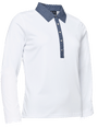 Abacus Sports Wear: Women's High-Performance Golf Longsleeve Polo - Crail