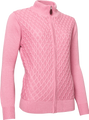 Abacus Sports Wear: Women's High-Performance Golf Windstop Cardigan - Avondale