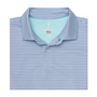 Fairway & Greene: Men's USA The Carlisle Stripe Jersey Polo