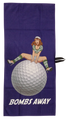 Bombs Away Waffle Golf Towel by ReadyGOLF
