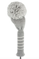 Just 4 Golf: Driver Headcover - Gray Solid