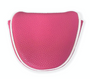 Just 4 Golf: Putter Cover Mallet Headcovers - Bright Pink