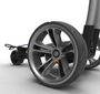 Powakaddy: Electric Trolley - CT6 EBS GPS Gun Metal Silver 18 Hole Lithium