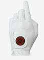 Asher Golf: Mens Utility Golf Glove - Crimson
