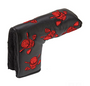 Tattoo Golf: Lucky 13 Putter Cover -  Blade Style (Red)