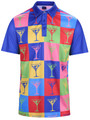 Shaken Not Stirred Mens Golf Polo Shirt by ReadyGOLF