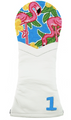 Smathers & Branson: Driver Needlepoint Golf Headcover - Pink Flamingo