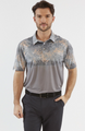 Chase 54: Men's Short Sleeve Polo - Arid