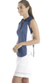 Chase 54: Women's Sleeveless Polo - Knots