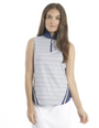 Chase 54: Women's Sleeveless Polo - Port