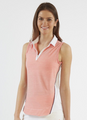 Chase 54: Women's Sleeveless Polo - Surface