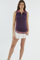 Chase 54: Women's Sleeveless Polo - Tactile