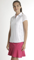 Chase 54: Women's Short Sleeve Polo - Scales