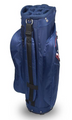 Hot-Z Golf: 2.5 Cart Bag - Red/White/Blue