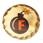 Sunfish: Copper Ball Marker - F BOMB