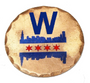 Sunfish: Copper Ball Marker - Fly The W
