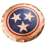 Sunfish: Copper Ball Marker - Tennessee Tri-Star State Flag