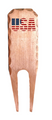 Sunfish: Forged Copper Divot Tool - USA Pride