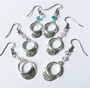 One Putt Designs - Golf Visor Earring w/Swarovski Crystals
