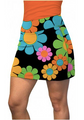 Loudmouth Golf: Women's Active Skort - Magic Bus