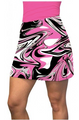 Loudmouth Golf: Women's Active Skort - Pink Marble